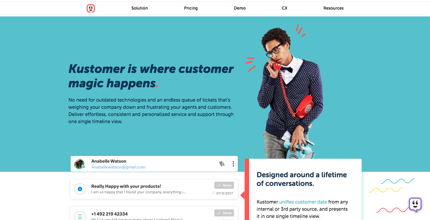 Kustomer - Next-Gen Customer Management Platform