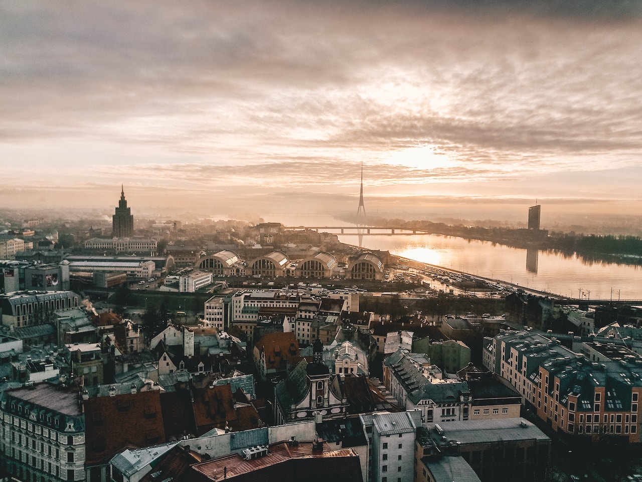 Photo: Riga, Latvia by Gilly, Unsplash
