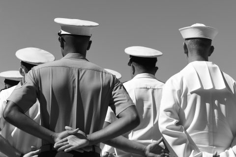 Photo: US Navy sailors | Credit Bumble Dee, Adobe Stock