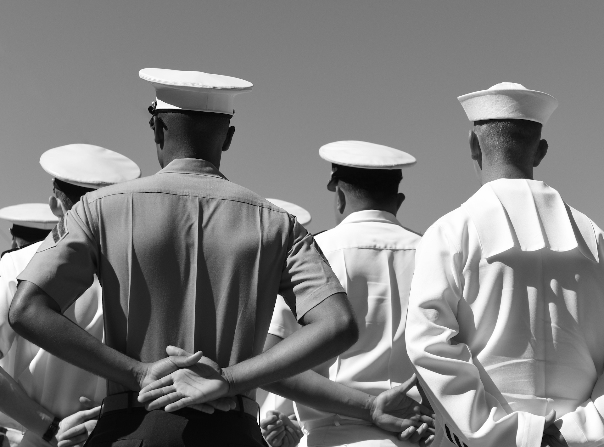 Photo: US Navy sailors | Credit Bumble Dee, Adobe Stock