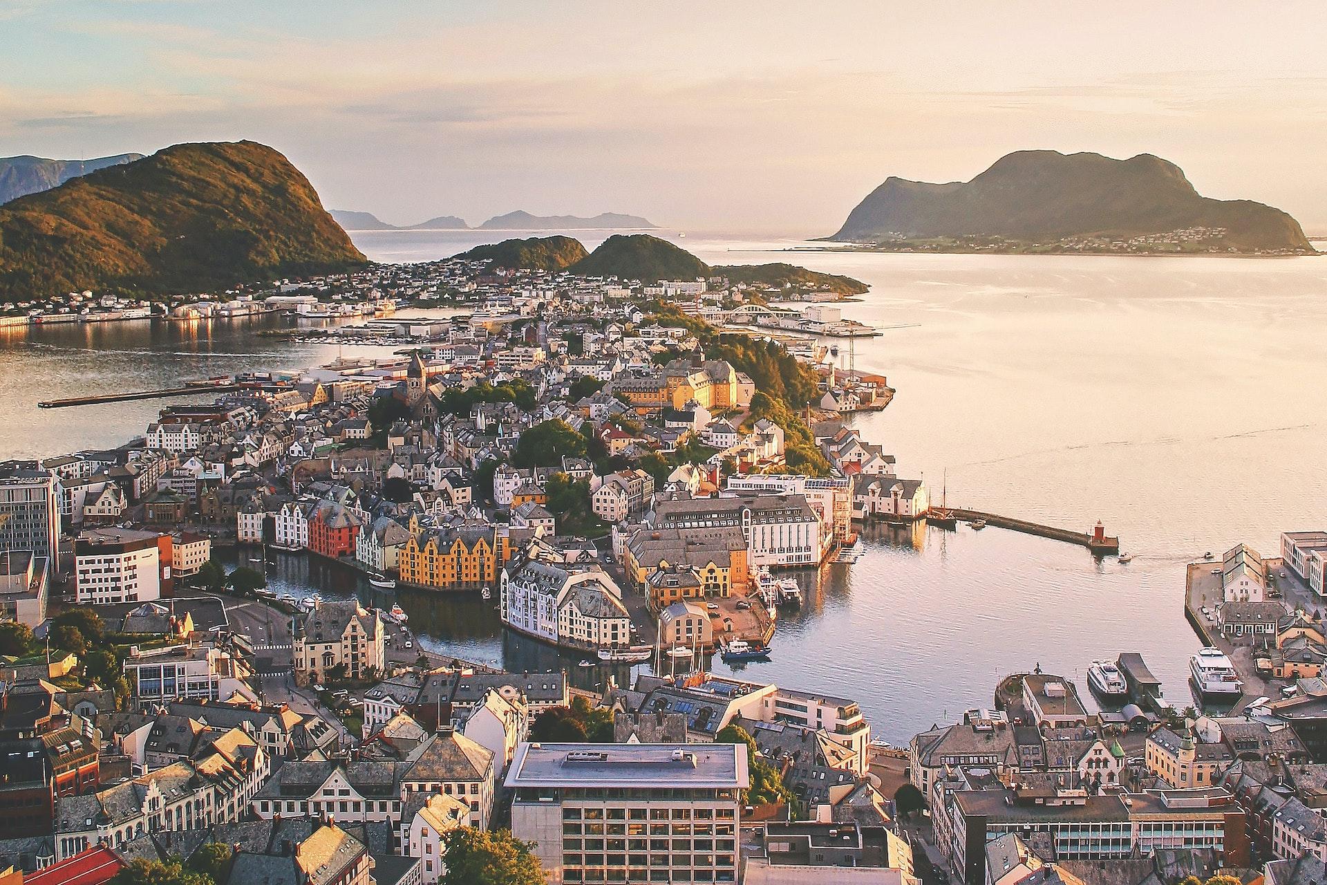 Photo: Aksla Viewpoint, Alesund, Norway | Credit: Jarand K. Løkeland, YFS Magazine, Unsplash