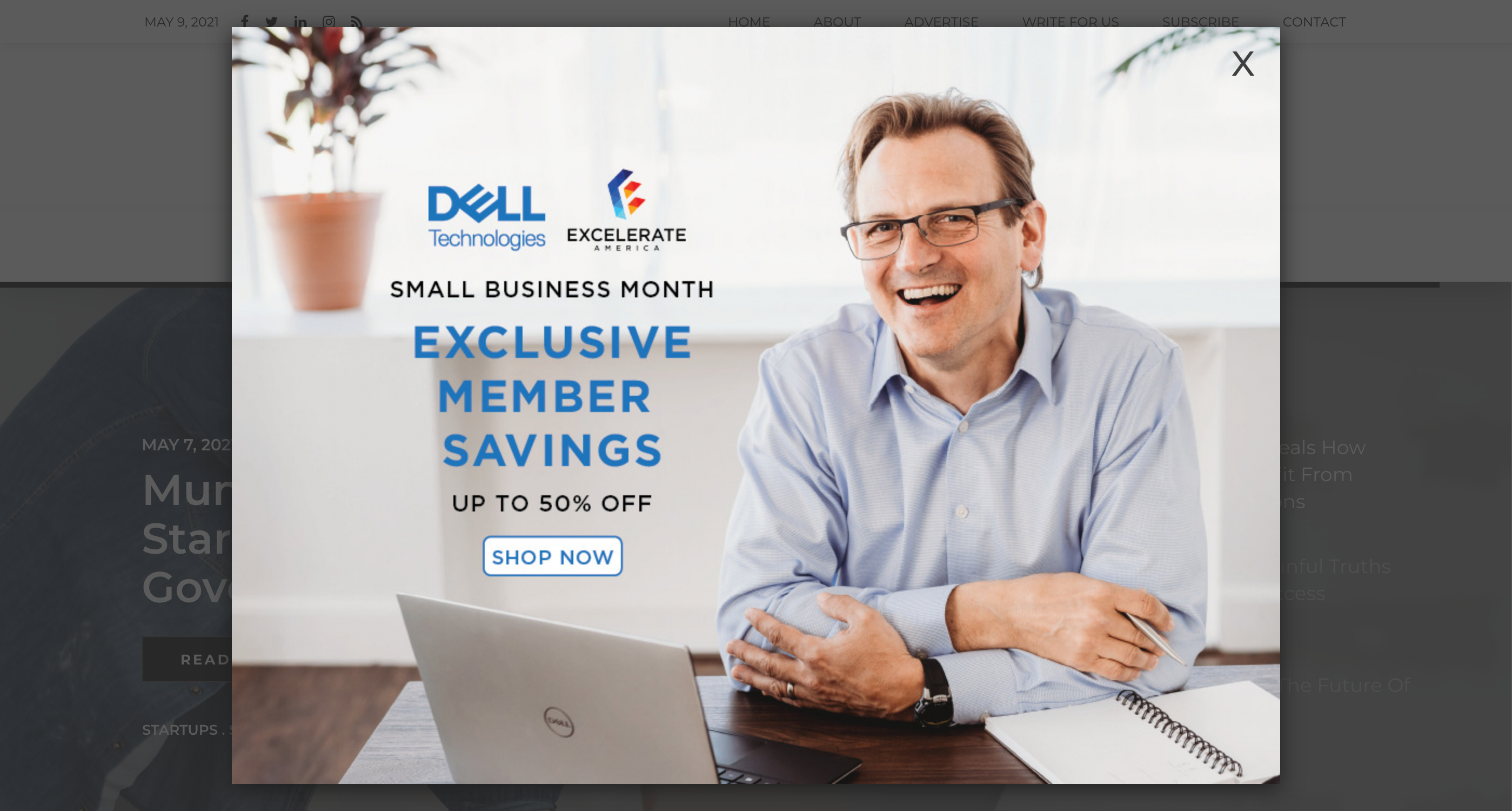 YFS Magazine - Dell Welcome Ad 970x700